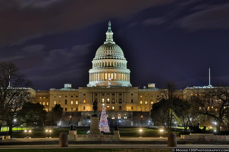 December 14 - Washington DC by night...