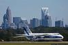 September 1 - Giant Antonov spends a few days at CLT escaping Hurricane Dorian.