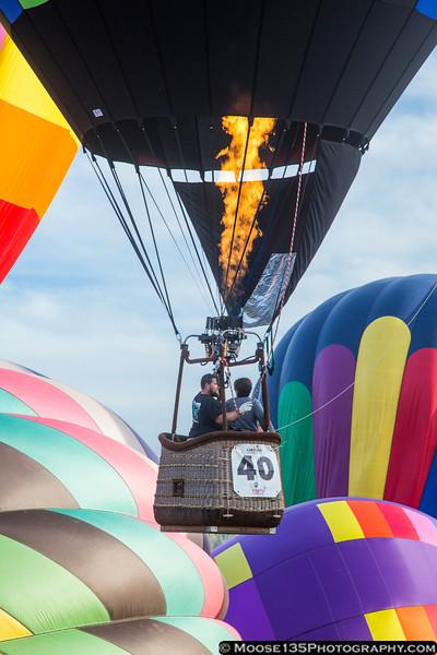 October 18 - Balloon launch at the Carolina BalloonFest in Statesville.