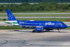 July 31 - Blue Finest, JetBlue's tribute to the NYPD, visited CLT.