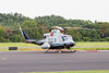 August 18 - Department of Energy /  National Nuclear Security Administration (DOE/NNSA) Nuclear Emergency Support Team Bell 412 at Concord Regional Airport, in town to survey radiation levels prior to the Republican National Convention in Charlotte.