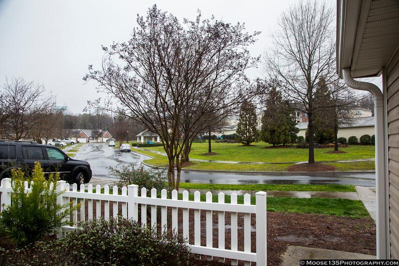 February 6 - Heavy rain following tornadoes touching down in the Charlotte region!
