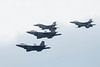 May 24 - Flyover by F-16s and F-22 prior to the NASCAR Coca Cola 600 at Charlotte Motor Speedway, held without fans due to the coronavirus pandemic.