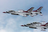 May 28 - Back to the beach! Air Force Thunderbirds perform at the Jones Beach Air Show.