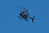 March 11 - CMPD helicopter circles over the scene of an accident on I-85 next to my complex.