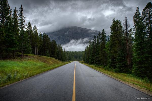 2014-08-22 Tunnel Mountain Road