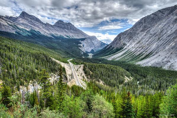 2014-08-24 Icefields Parkway 93 Vistas