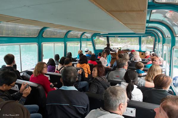 2014-08-25 Maligne Lake Boat Ride