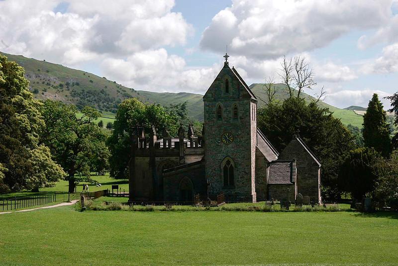 Ilam church - Dovedale