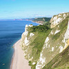 Contrasting cliffs