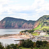 Dropping down into Sidmouth