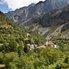 Climbling to Cain de Arriba