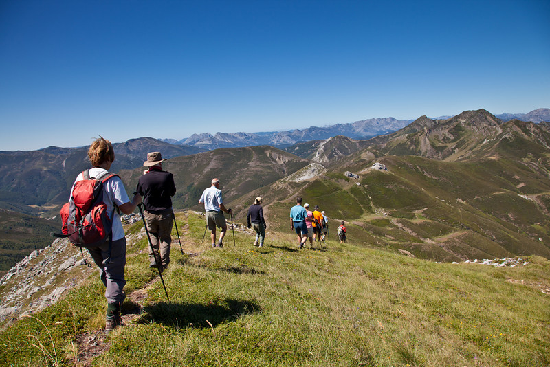 Descent from Pico Gabanceda to Prada