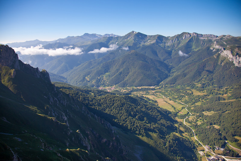 Stunning views from Refugio del Cable