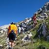 Climbing to Pico Gabanceda