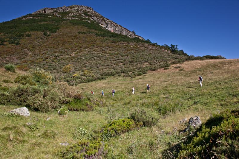 Climbing towards Vegabano