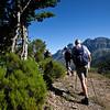 Walking to Pico Gabanceda