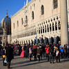 Festival atmosphere at the Piazza San Marco