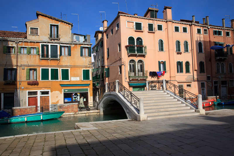 Canal side apartments