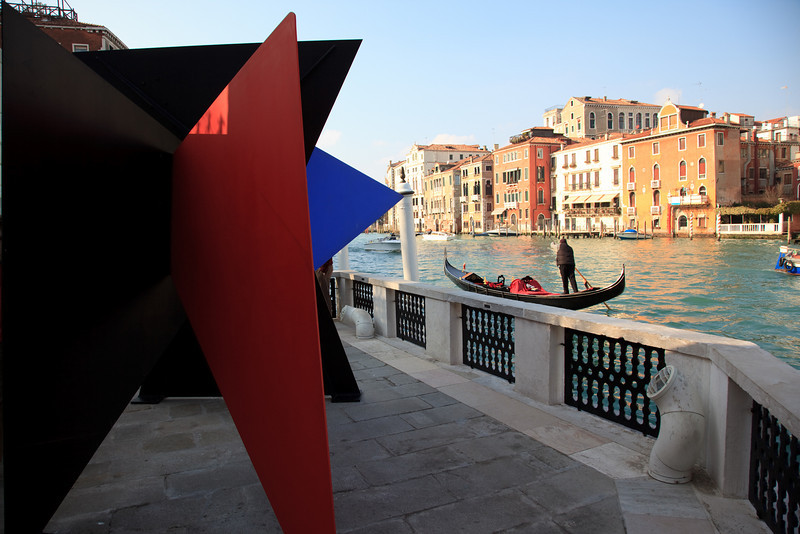 Grand Canal from the terrace of The Peggy Guggenheim Gallery