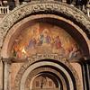Fresco above the entrance to St Mark's Basilica