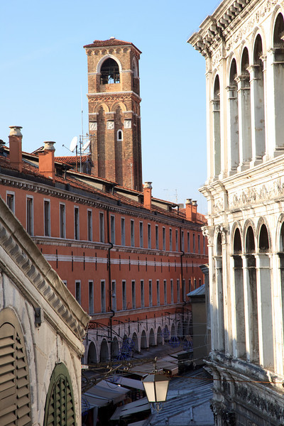 View from The Rialto bridge - Palazzo Camerlenghi (right)