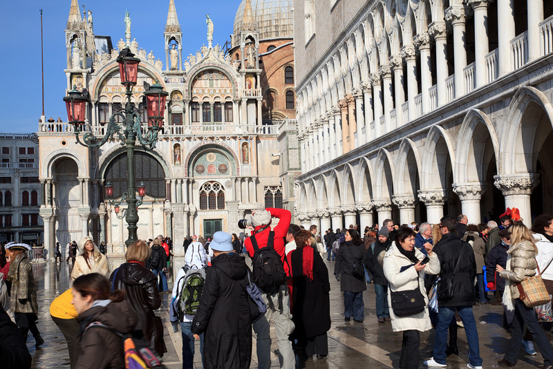 Doge's Palace and Basilica di San Marco