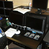 Camera shading station