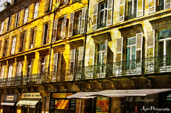 Streets of Limoges, France - 2012