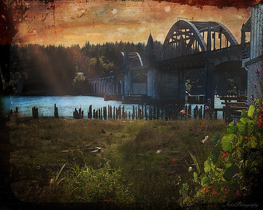 Florence Bridge ~ Florence, Oregon