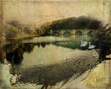 Bridge over Tranquil Waters - Limoges, France