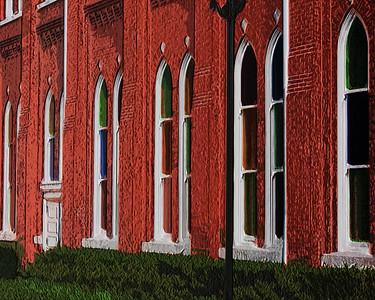 The Church  Windows ~ Nashville, TN
