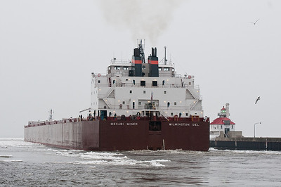The Mesabi Miner heading east with a load of coal.