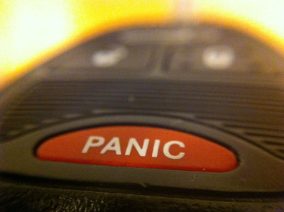 Panic Button on Car Key
