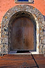 A beautifully carved wooden door, A beautifully carved wooden door