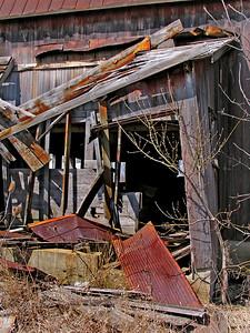 An Old, Abandoned Farm House, An Old, Abandoned Farm House