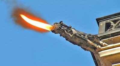 Fire-breathing Gargoyle
