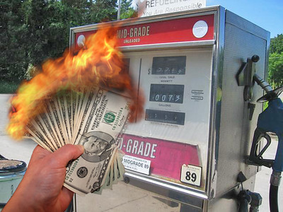Burning Money at the Pump