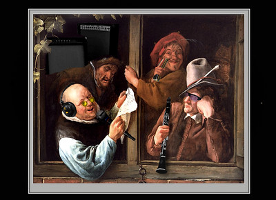 """Jam Session """"The Rheatoricians""""  by Jan Steen"""