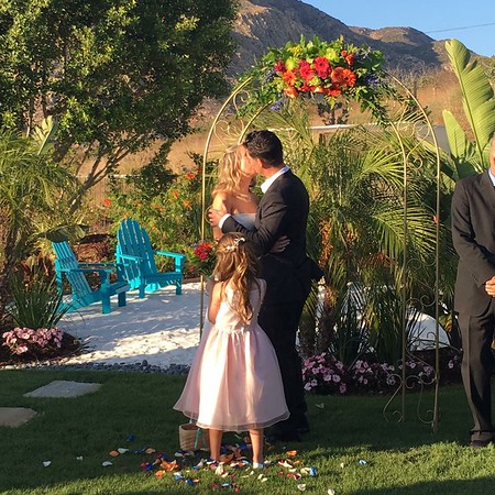 Cliff and Melissa's Spectacular Surprise Wedding July 2, 2016