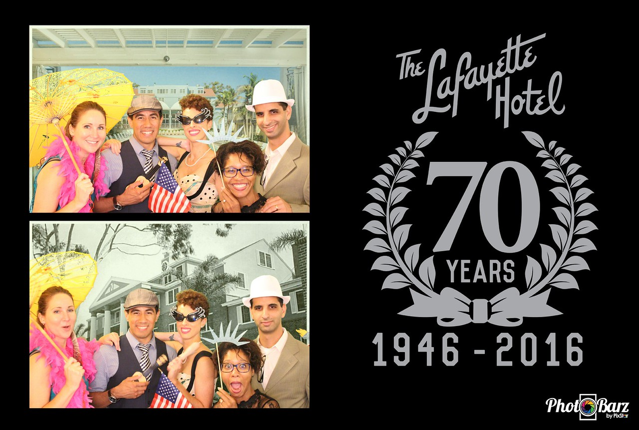 Lafayette Hotel 70th Anniversary Celebration