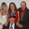 12/23 - Today is Steve's birthday. Here he is with his three children, Lisa, Julie, and Stephen, and the birthday hat that we made him wear (and of which he is definitively not fond). Love you, Steve!