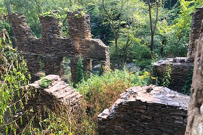 8/13 - Paper mill ruins