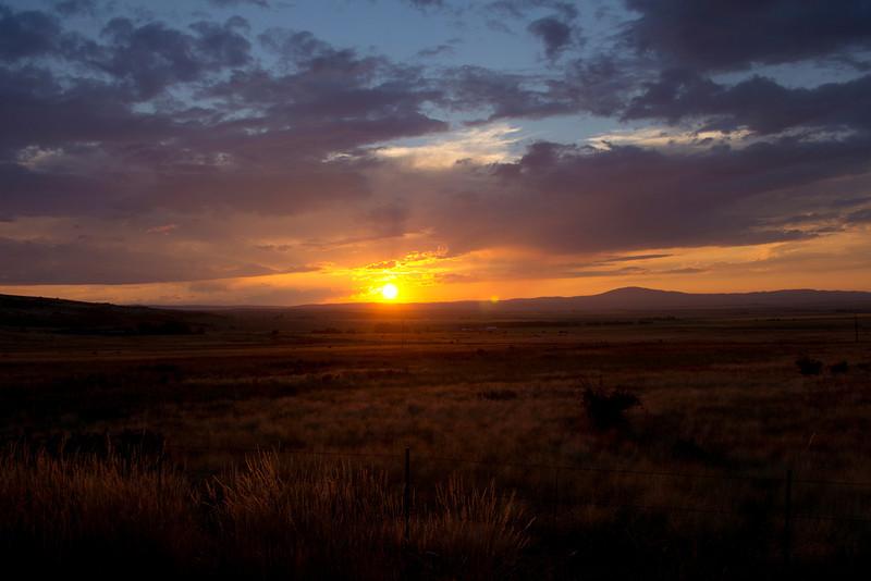Grangeville Sunset