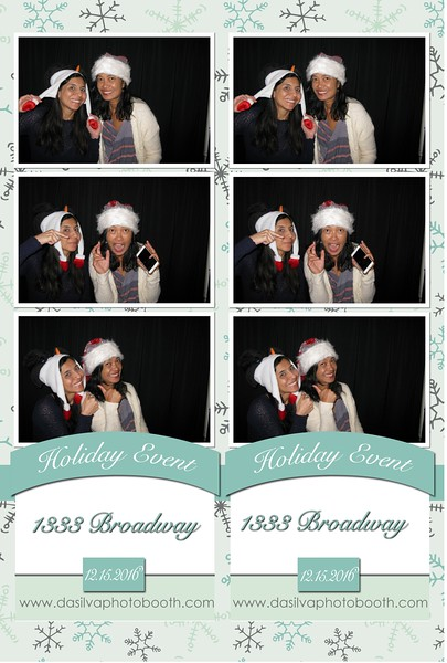 1333 Broadway Holiday Party