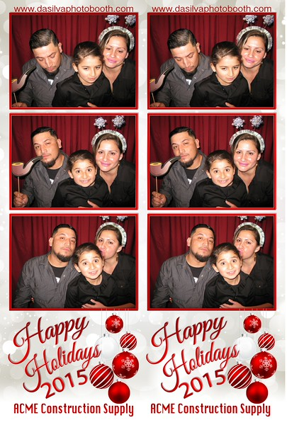 ACME Construction Supply Holiday Party