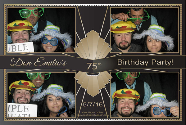 Don Emilio's 75th Birthday Party