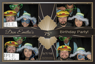 Don Emilio's 75th Birthday Party