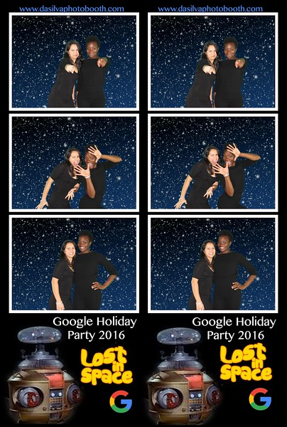 Google Lost In Space Booth #2