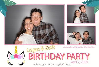 Logan & Zoe's Birthday Bash